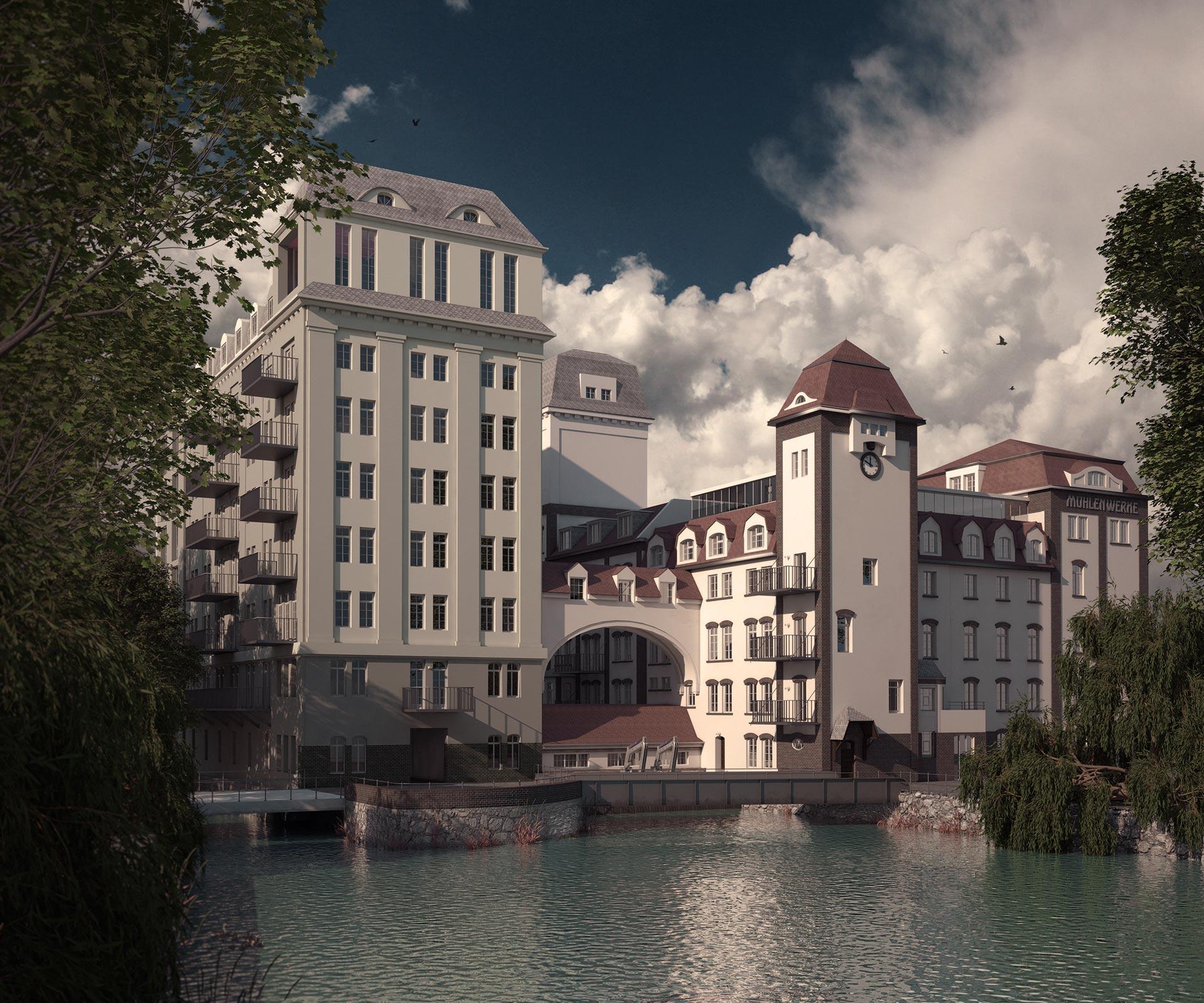 M hlenwerke eilmann architekt for Architekt leipzig